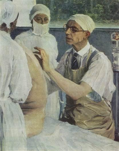 Портрет С.С. Юдина