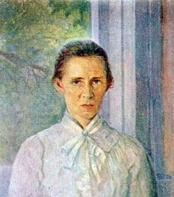 Леся Украинка портрет