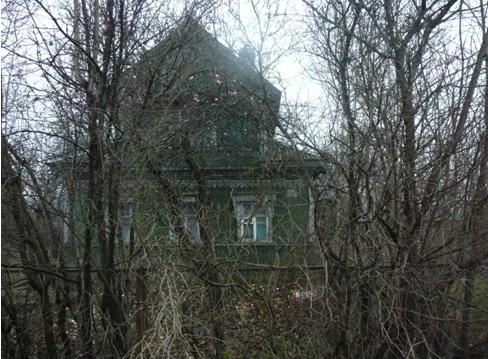 Фото 1. Дом Павла Петровича Кадочникова. Деревня Канисты  2013г.