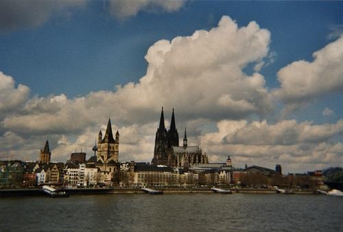 Панорама  Koeln фото