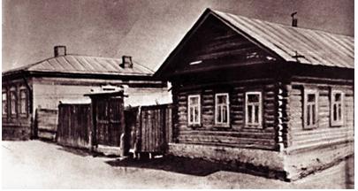 Дом семьи Бродельщиковых в Елабуге
