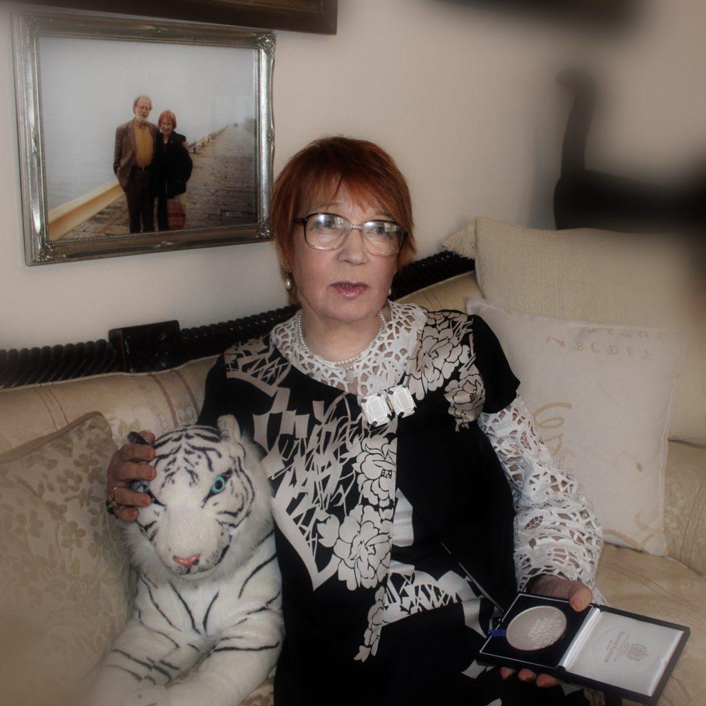 Фото 16 ВП с медалью Бенсона, 2014