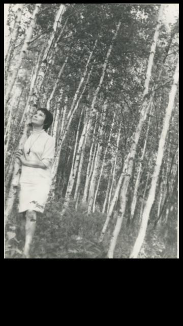 Фото 5 ВП в березовой роще 1967 JPG