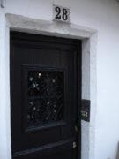 Дверь дома Фанни Дюрбах