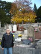 У могилы Фанни Дюрбах